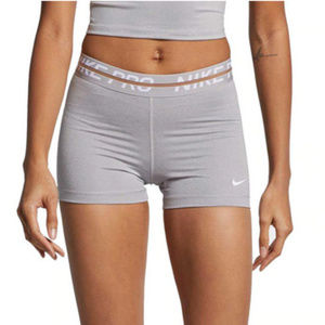 "NWT Nike Pro Heatherized 3"" Shorts"